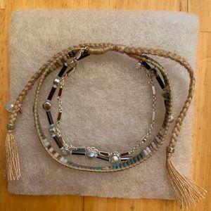 Stella & Dot Frieze layered bracelet